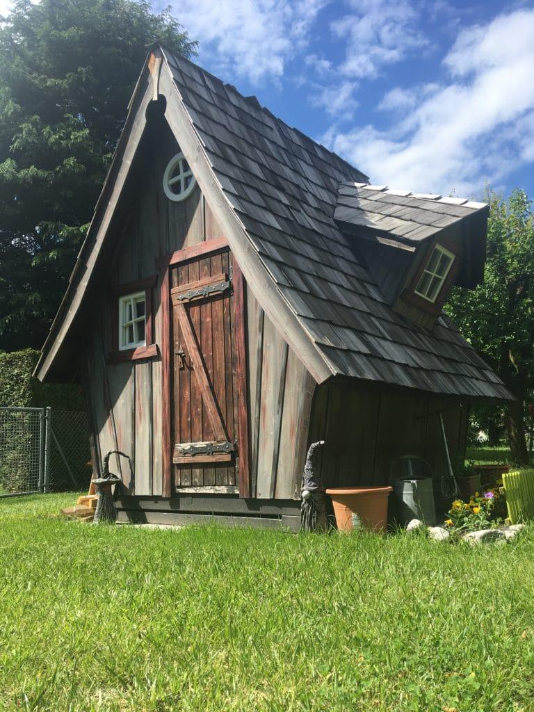 Installation d'une nouvelle cabane