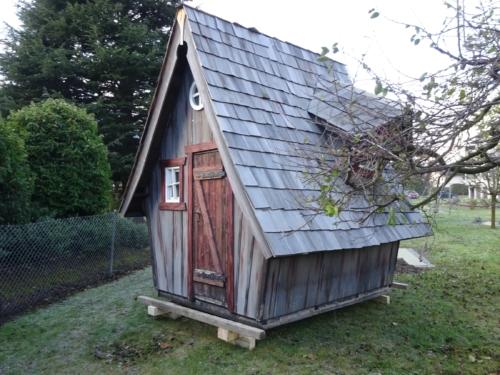 Installation de la cabane